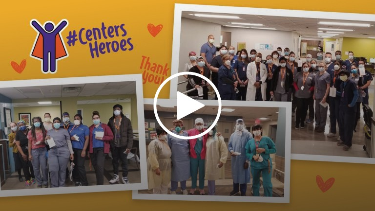 , Extraordinary Individuals: #CentersHeroes, Centers Custom Theme - Centers Health Care